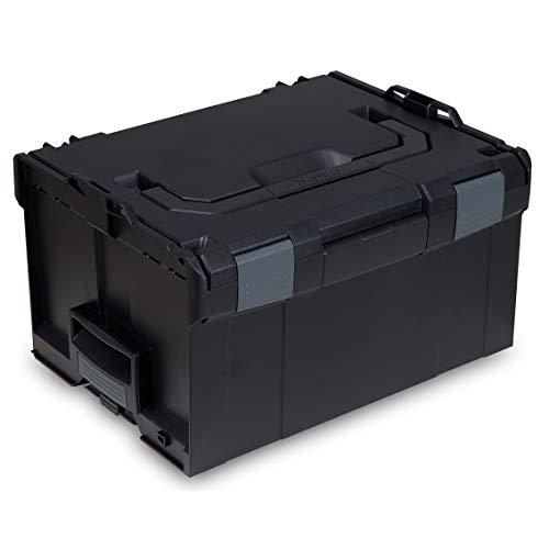 L-BOXX® 238 Bosch Sortimo schwarz leer BSS Werkzeugkoffer Transportbox black
