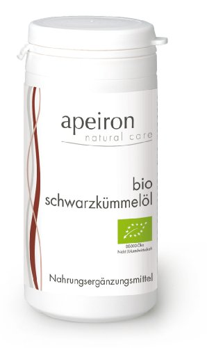 Apeiron Bio Schwarzkümmelöl Kapseln 60 Stk.