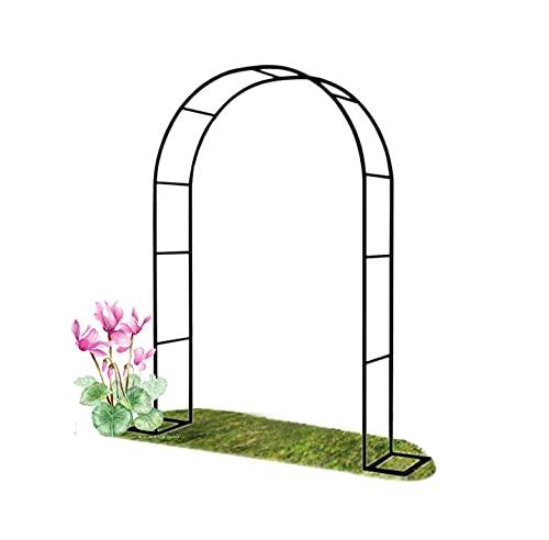 ETNLT-FCZ Arco De Metal para Rosales, con Revestimiento En Polvo para Plantas Soporte Rosas Escalada Archway Jardín Decoración,Arco De Jardin para Plantas(Size:W240xH220cm/W94.5xH87in)