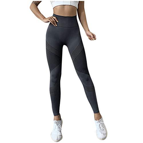 Cinnamou Femmes Leggings Pantalon de Sport Imprimé Fashion Pantalon Stretch Collant Extensible Taille Haute Yoga Gym Fitness