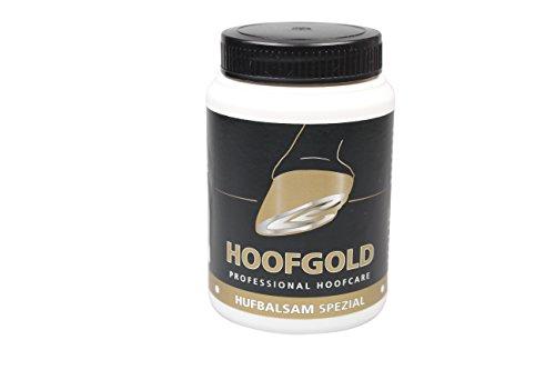 HOOFGOLD Bálsamo especial para pezuñas para caballos, grasa para el cuidado diario de pezuñas contra cascos quebradizos y secos, 500 ml