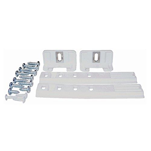 VIOKS deurmontageset voor sleepdeur scharnier rail glijrail koelkast en vriezer geschikt als Liebherr 9086322