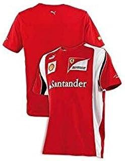 FERRARI Camiseta Hombre Alonso F1 2012 Rojo Talla XL: Amazon.es: Deportes y aire libre