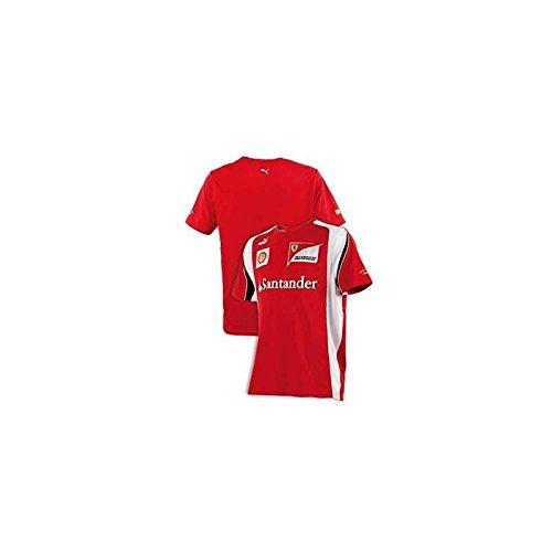 FERRARI Camiseta Hombre Alonso F1 2012 Rojo Talla M