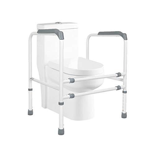 M-JJZX Marco Marco Aseo WC con Patas Regulables En Altura Y Anchura De Eldery Discapacitados Y La Ayuda De Movilidad Reducida (Color : Gray) 🔥
