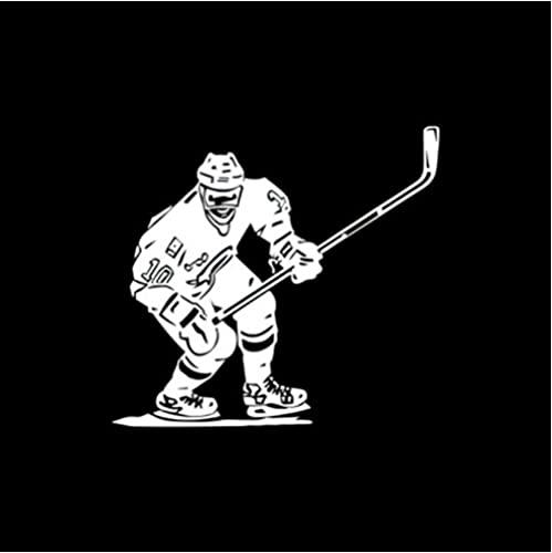 5 Piezas Pegatina para Coche 14 cm * 13 cm Hockey sobre Hielo Deportes Vinilo Pegatinas para Coche Blanco