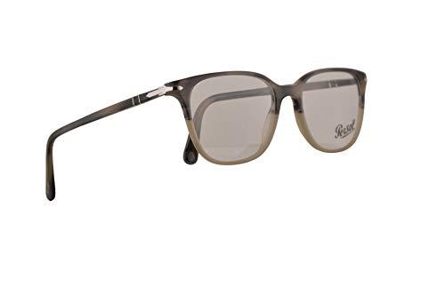 Persol PO3203V Brillen 51-18-145 Beige Graugestreift Mit Demonstrationsgläsern 1065 PO 3203V PO 3203-V PO3203-V