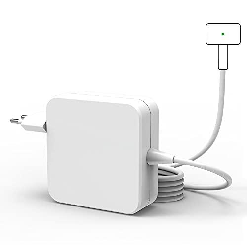 Cargador Compatible con Mac Book Air, Fuente de Alimentación de Repuesto de 45W, Cargador Magnético 2 T-Tip Compatible con Mac Book Air 11' y 13' - Después de 2012 Modelos A1435 A1436 A1465 A1466