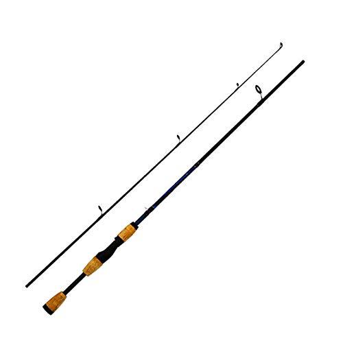Ca?as De Pescar Ca?a De Pescar Giratoria De 2 Secciones De Fibra De Carbono De 1,8 M, Ca?a De Pescar con Mango De MaderaLos Mejores Regalos para Amantes De La Pesca (Size:1.8m; Color:Spinning Rod)