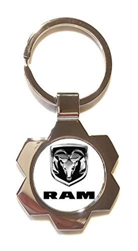 Sleutelhanger Silverstone van verzilverd metaal - Dodge RAM