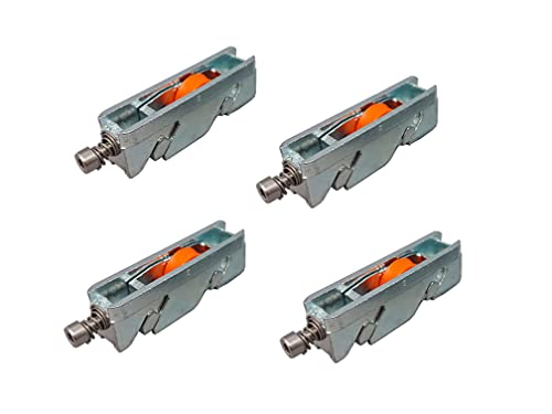 Ventanastock - Ruedas regulables correderas de repuesto para ventana o balconera de aluminio (4 unidades)