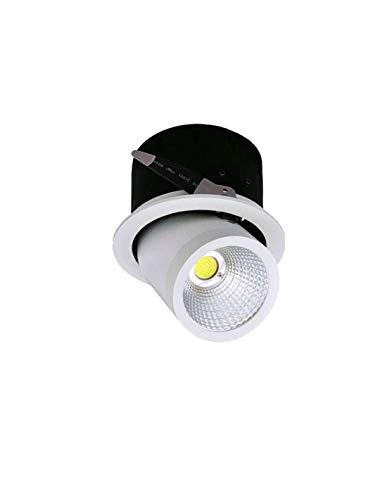 Starwatt – Foco LED empotrable orientable, 35 W, blanco frío