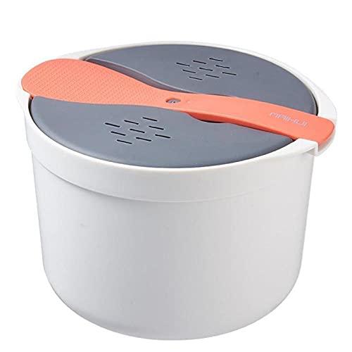 Essensbox Hochtemperaturbeständige Essensschachtel, Doppelschichtschachtel, Mikrowellengeschirr, Vorratsbehälter Für Lebensmittel, Gedämpfter Reiskocher Für Den Haushalt-orange_cn._1_2000ml_2