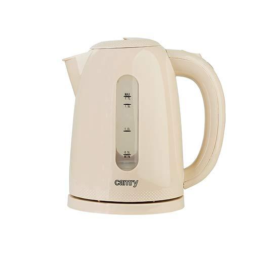 Camry cr1254C Wasserkocher, 2200W, 1.7Liters, 0decibeles, Elfenbein