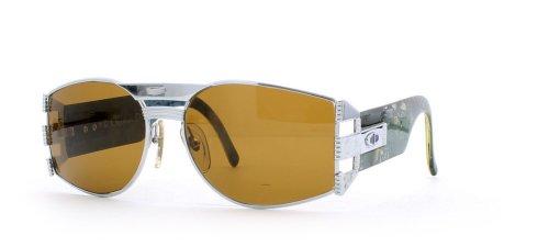 Christian Dior 2562 Herren-Sonnenbrille, silberfarben, quadratisch, zertifiziert