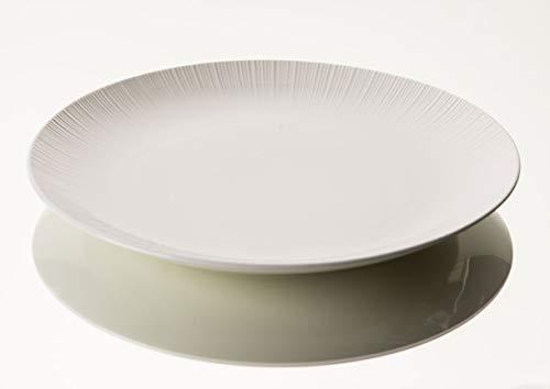 Amadeus - assiette de présentation en porcelaine jeanne 33 cm