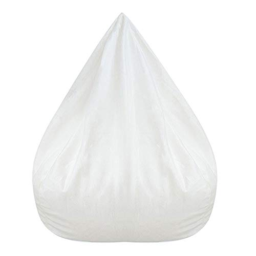 harupink Housse de pouf sans rembourrage pour canapé - Doublure intérieure pour pouf Lazy - Sac intérieur pour salon - Fermeture éclair - Home (100 x 120 cm)