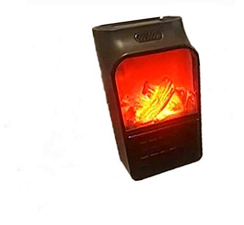 Calefactor Portátil Simulación Llamas Heater...