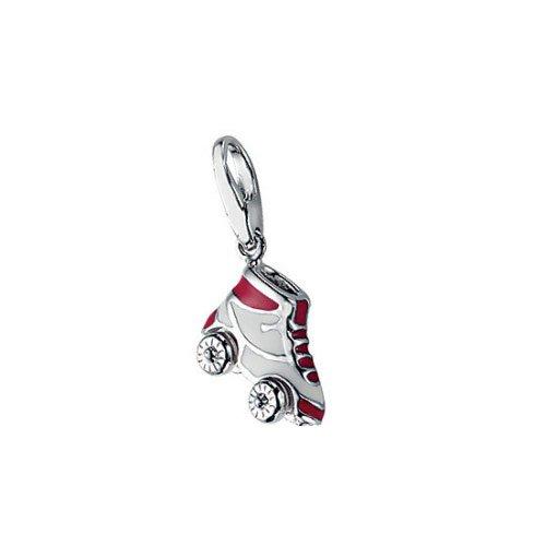 Giorgio Martello Milano Damen Charm Silber Rollschuh 551-809949