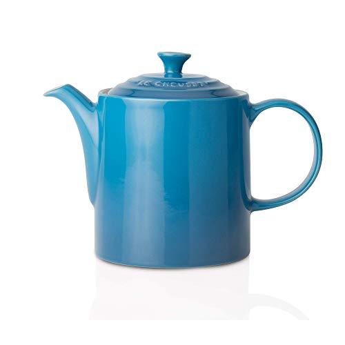 Le Creuset Klassische Teekanne, Rund, 1,3 Liter, Steinzeug, Marseille