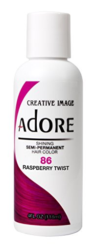 Adore Haartönung / Haarfarbe Semi Permament Color ,,86,, RASPBERRY TWIST
