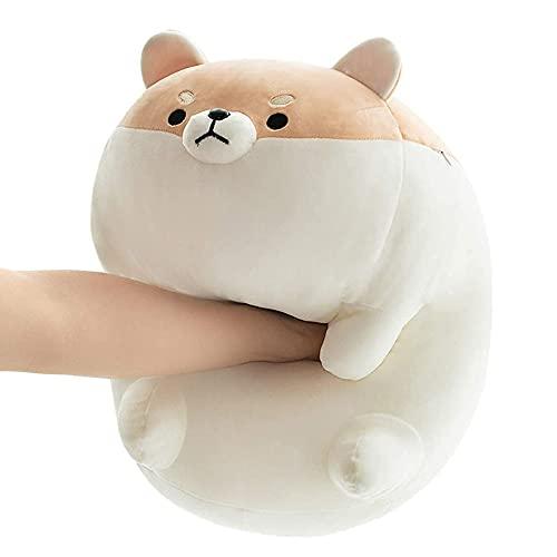 ARELUX Stuffed Animal Shiba Inu Plush Pillow,Soft Corgi Dog Anime Plushies Japanese Cuddle Pet Throw Pillow,Kawaii Plush Toy Gifts for Boys Girls Kids Birthday
