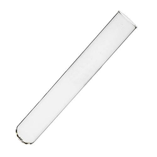 JIANFEI LIANG 20pcs- 50ml Klarglas Reagenzglas 20 * 200mm Flach Mund Hitzebeständige Labor Chemie-Labor Tubes (Size : 50ml)
