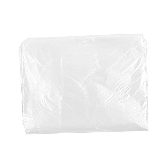 50 stks wegwerp bad cover, film plastic bad tassen badkuip voering tassen voor sauna, huishoudelijke hotel bad spa douche