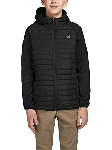JACK & JONES Boy Steppjacke Jungs 176Black