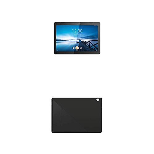 Lenovo Tab M10 25, 5 cm (10, 1 Zoll HD IPS Touch) Tablet-PC (Qualcomm Snapdragon 429 Quad-Core, 2 GB RAM, Wi-Fi, Android 9) schwarz + Tab M10 (HD) Schutzhülle mit integrierten Stand, schwarz