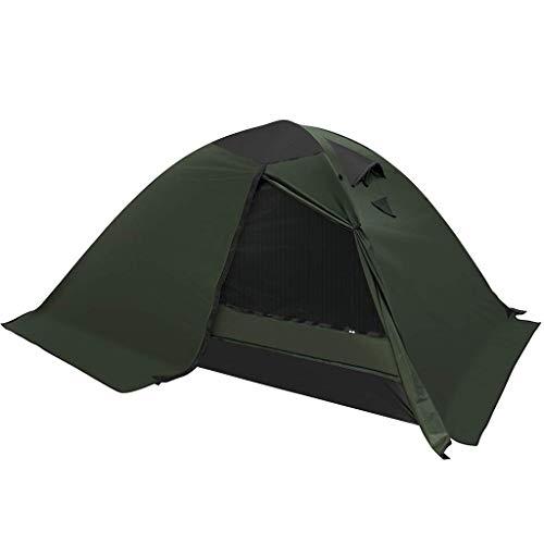 CATRP Marca 2 Personas Carpa para Camping 4 Estaciones Impermeable Tienda De La Bóveda para Exteriores Mochilero Alpinismo