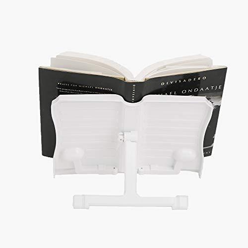 Mind Reader BOOKSTA-Wht - Soporte para Libros, Blanco, 1