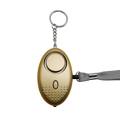 Timetided Alarma Personal para Mujeres 140DB Llavero de Alarma de Seguridad de autodefensa de Emergencia con luz LED para Mujeres, niños y Ancianos