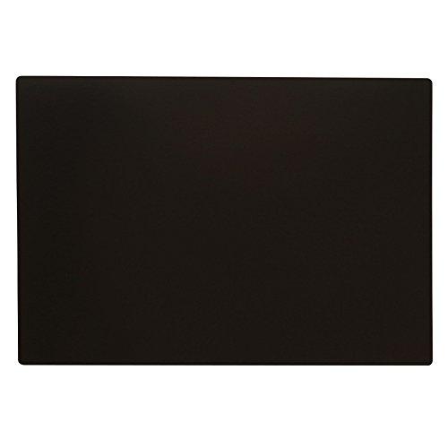 リサイクルレザー デスクマット Lサイズ 650x450mm【ブラック】 ITD01