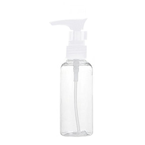 ZHOUBA 100 ml Nachfüllbare leere Kunststoff-Shampoo-Pump-Flasche für Haustier-Zubehör