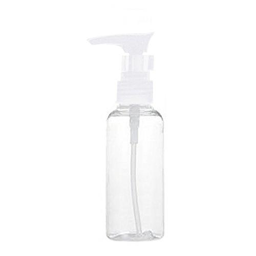 Saniswink 100/ml rechargeables vide clair Plastique Shampooing Flacon Pompe de pression pour animal domestique accessoire simple et pratique de voyage Bottling