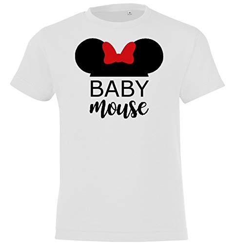 Kinderen + heren + dames T-shirt model familie muis Papa Mama baby / voor de hele familie / in verschillende Kleuren: