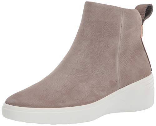 ECCO Damen Soft 7 Wedge Diffuse Ankle Boot, Grau (Grau Warm Grey), 34.5 EU