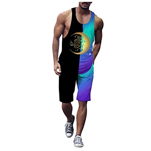 Corlidea Camiseta de tirantes para hombre, sin mangas, para culturismo, para entrenamiento, deporte, fitness