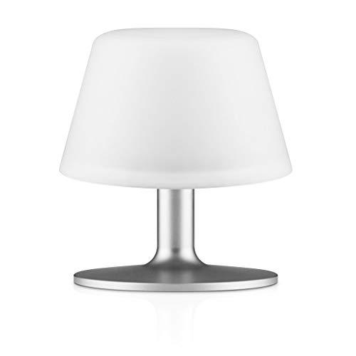 Eva Solo 571337aluminio, color blanco lámpara de mesa lámpara de mesa (aluminio, color blanco, Aluminio, Vidrio, Dormitorio, Salón, Henrik holbaek, color blanco, Batería Recargable)