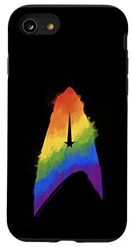 iPhone SE (2020) / 7 / 8 Star Trek: Discovery Pride Paint Logo Case