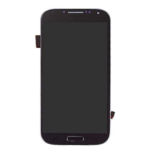 zNLIgHT Piezas de Tel¨¦Fono internas | LCD Pantalla t¨¢ctil digitalizador con Marco para Samsung Galaxy S4 i337 I9500 i9505-negro