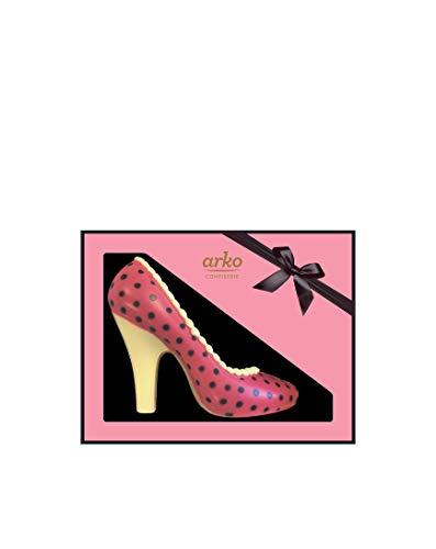 High-Heel aus Schokolade, gepunktet von arko, 120g