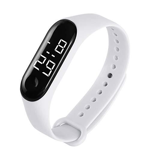 Borlai Orologio da Polso Digitale Impermeabile con Cronometro Sportivo con Controllo Tattile E Controllo Fitness da Donna E da Uomo