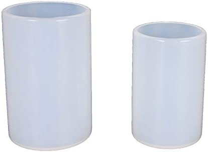 Now on sale ZHHOOHAG Candle Moulds 2 Psc W Cylinder for Silicone Mold Manufacturer OFFicial shop