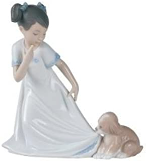 Nao by Lladro Collectible Porcelain Figurine: LET ME GO! - 6 3/4