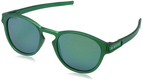 Oakley LATCH 926523 53 Occhiali da sole, Verde (Gamma Green/Prizmjade), Uomo