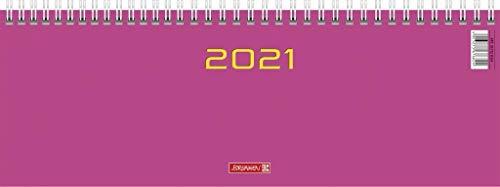 Baier & Schneider & SchneiderQuerterminkalender 2021, Modell 772 pink