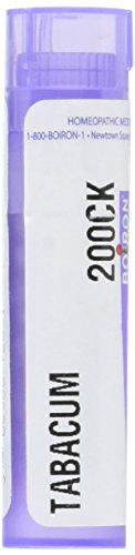 Boiron Tabacum 200CK, 80 Pellets, Homeopathic Medicine for Motion Sickness