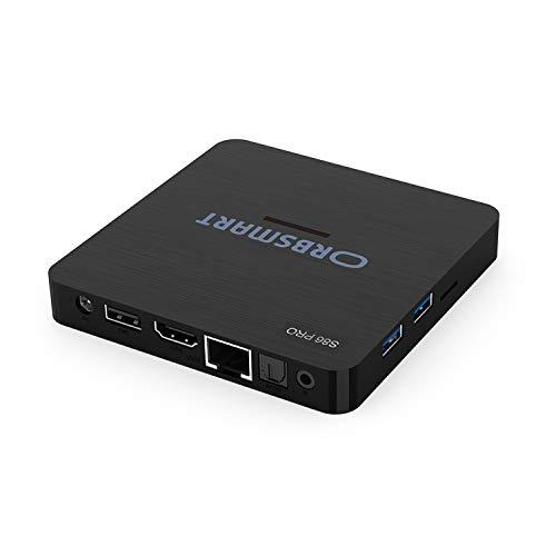 Android TV Box Orbsmart S86 Pro 4K (UHD) HDR10+ Smart TV Mini-PC (Hexacore-CPU S922X, 4GB RAM, HDMI 2.1, Gigabit-LAN, WiFi 6 / WLAN-ax, BT 5.0)